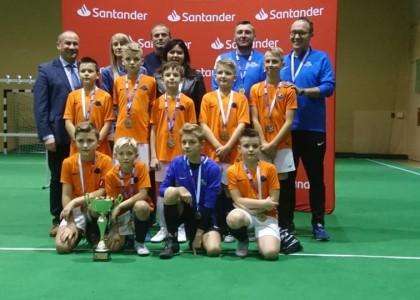 Srebro Młodzików Młodszych w prestiżowym Santander Cup w Krotoszynie
