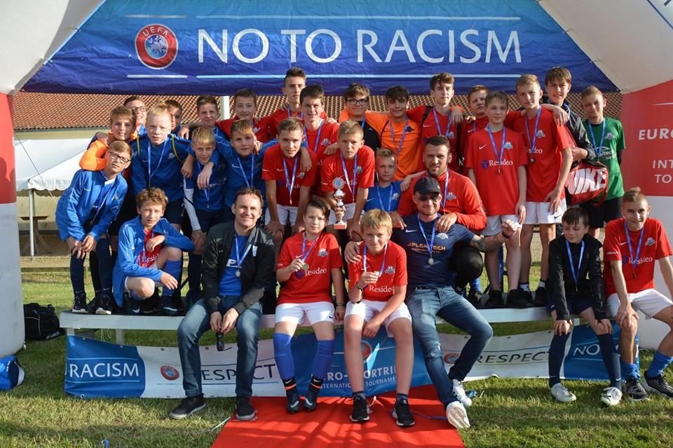 Dwa zespoły Szkoły Futbolu w Danii!